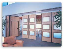 Moduflex Series 400 ... & Panelfold® - folding doors acoustical folding partitions operable ...
